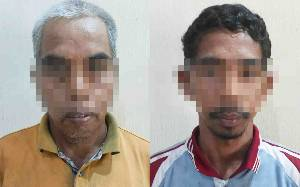 Polisi Tangkap 2 Warga Kalimantan Selatan Pengangkut Kayu Ilegal di Barito Utara