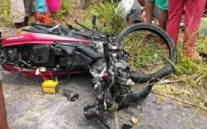 Kecelakaan Maut Truk dan Sepeda Motor di Kapuas, 1 Orang Tewas