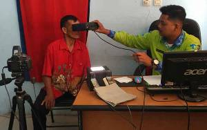Pandemi Covid-19, Disdukcapil Kotawaringin Timur Belum Bisa Lakukan Jemput Bola Perekaman KTP Elektronik