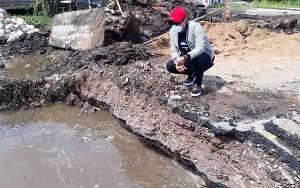 Pemerintah Provinsi Respon Cepat Perbaikan Jembatan Desa Sei Ijum Raya, Bupati Kotawaringin Timur: Terima Kasih Pak Gubernur Kalteng