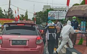 Ketua Komisi C DPRD Palangka Raya Apresiasi Kegiatan Drive Thru Rapid Test