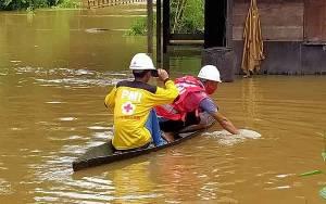 Penyebab Banjir di Desa Nibung Terjun Akibat Sungai Belrum Normalisasi