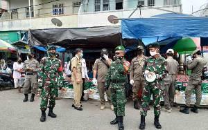 Satgas PSKH Tertibkan Pedagang di Bahu Jalan Jawa dan Sumatera