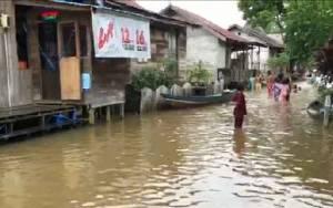 Diguyur Hujan, Sejumlah Desa di Lamandau Terendam Banjir