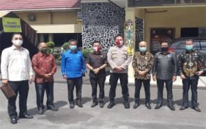 Komisi I DPRD Kotim Silaturahmi dengan Kapolres, Ini Yang Dibahat