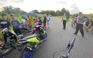 Satlantas Polres Kotawaringin Timur Intensifkan Patroli Penertiban Balapan Liar, 11 Sepeda Motor Diamankan