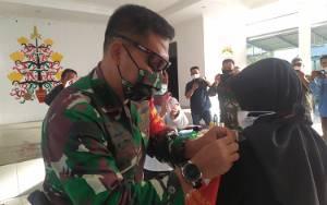 Dandim Palangka Raya Minta Satgas Covid-19 Pasar Besar Bantu Ingatkan Warga Terapkan Protokol Kesehatan