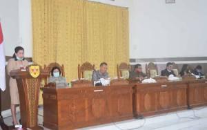 Fraksi Pendukung DPRD Gunung Mas Setuju Raperda Pertanggungjawaban Pelaksanaan APBD 2019 Dibahas