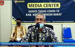 Ini Langkah Lanjutan Tim Gugus Covid-19 Kobar Terkait Pembatasan Jam Operasional Pasar Indra Sari