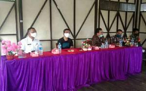 Dinas PMD Kapuas Rapat Koordinasi Bersama Pemerintah Desa Pulau Telo Lama
