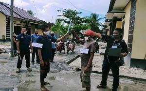 26 Adegan Diperagakan Pelaku Pembunuhan di Desa Telaga Baru