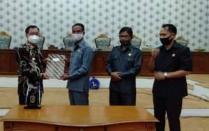 DPRD Katingan Tetapkan Raperda LKPj APBD 2019 Jadi Perda