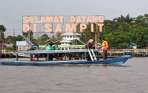 Wisata Susur Sungai Mentaya Jadi Pilihan Masyarakat Kotim di Tengah Pandemi Covid-19