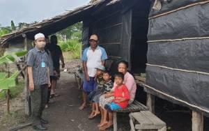 Bupati Seruyan Naik Motor Kunjungi Warga!Kurang Mampu di Desa Kartika Bhakti