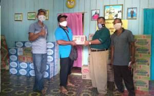 Dua Desa Ring 1 Kebanjiran PT NAL Buka Akses Jalan Perusahaan dan Beri Bantuan Warga Terdampak