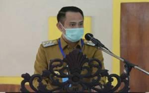 Wali Kota Palangka Raya Penyampaian Hasil Kajian Epidemiologi Senin