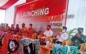 Polda Kalteng Launching Desa Pantang Mundur Secara Virtual