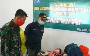 Kodim Kapuas Bersama Dinas P3APPKB Gelar Pelayanan Keluarga Berencana