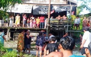 Janda Muda Meninggal Tenggelam di DAS Rungan Palangka Raya