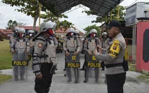 Polres Katingan Gelar Simulasi Pengamanan Markas Komando