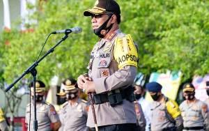 Ratusan Personel Polda Kalteng Naik Pangkat