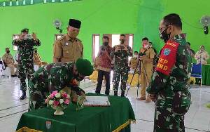 Danrem 102 Panju Panjung: TMMD Desa Bangun Jaya Fokus Bangun Embung
