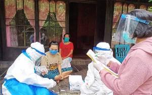 Ini Hasil Rapid Test 12 Kontak Erat Pasien Covid-19 di Desa Pulau Padang