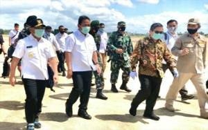 Gubernur Kalteng Sambut Wakil Menteri Pertahanan dan Wakil Menteri LHK