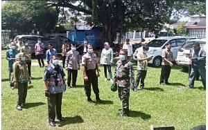 KUA Kecamatan Kapuas Murung Terus Berkoordinasi Terkait Penanganan Covid-19
