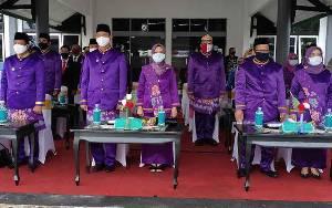 Pemkab Sukamara Gelar Apel Hari Jadi Kabupaten Ke-18 Tahun
