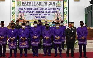 DPRD Sukamara Gelar Rapar Paripunra Hari Jadi Ke 18