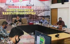 Pemkab Barito Utara Ikuti Rapat Evaluasi Pemberantasan Korupsi Terintegrasi se Kalimantan Tengah