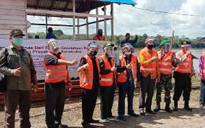 Pembangunan Jembatan Sikan - Tumpung Laung Dilaksanakan Sejak 2019