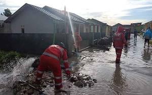 10 Rumah Warga Perumahan Tora Desa Pasir Panjang Terdampak Banjir