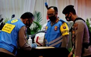 Tandatangan Penerimaan Anggota Polri Digelar di Graha Bhayangkara Polda Kalteng