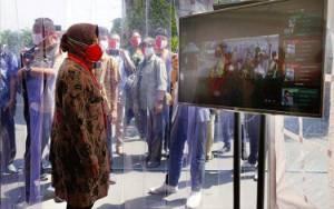 Menteri Kesehatan Sidak Balai Kota Surabaya, Risma Kaget