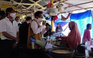 Rapid Test Massal Pasar Saik Sukamara Alat Ukur Untuk Penerapan New Normal