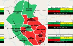 Kecamatan Rungan Barat Masuk Zona Merah Covid-19