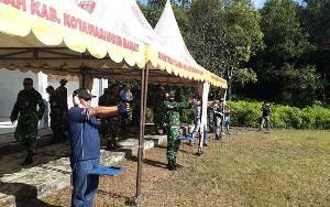 Perbakin dan Personel Lanud Iskandar Pangkalan Bun Asah Kemampuan Menembak