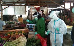 Rapid Test di Pasar PU Palangka Raya Diikuti 166 Pedagang