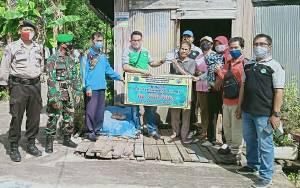 Pemerintah Desa Pangkalan Sari Salurkan BLT DD Untuk 90 KK