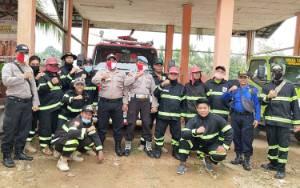 Polsek Dusun Tengah Periksa Kesiapan Antisipasi Karhutla