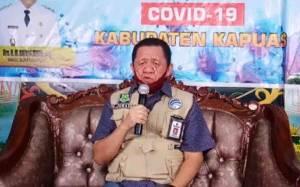 Update Kasus Covid-19 di Kapuas, 1 PDP Meninggal Dunia