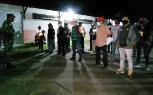 Tim URC Patroli Malam Perketat Penerapan Protokol Kesehatan di Palangka Raya