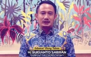 Wali Kota Palangka Raya dan Wakilnya Doakan Gubernur Kalteng Berkah dan Sehat Selalu