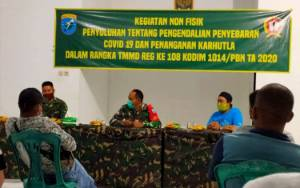 TMMD di Sukamara Juga Gelar Sosialisasi Pencegahan Covid-19 dan Karhutla