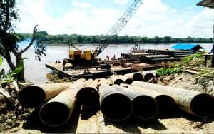 Anggaran Pembangunan Jembatan Rangka Baja Sikan-Tumpung Laung Rp 21,8 Miliar