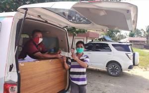 Satlantas Polres Kapuas Optimalkan Pelayanan Samsat Keliling Untuk Permudah Warga