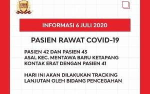 Positif Covid-19 di Kotawaringin Kembali Bertambah 2 Orang Asal Kecamatan MB Ketapang