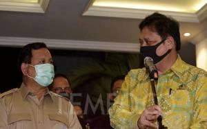 Airlangga Sebut Bertemu Prabowo untuk Soliditas Pemerintah
